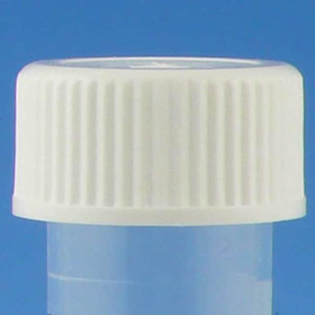 Globe Scientific Screwcaps for Transport Tubes Color: White:Centrifuges