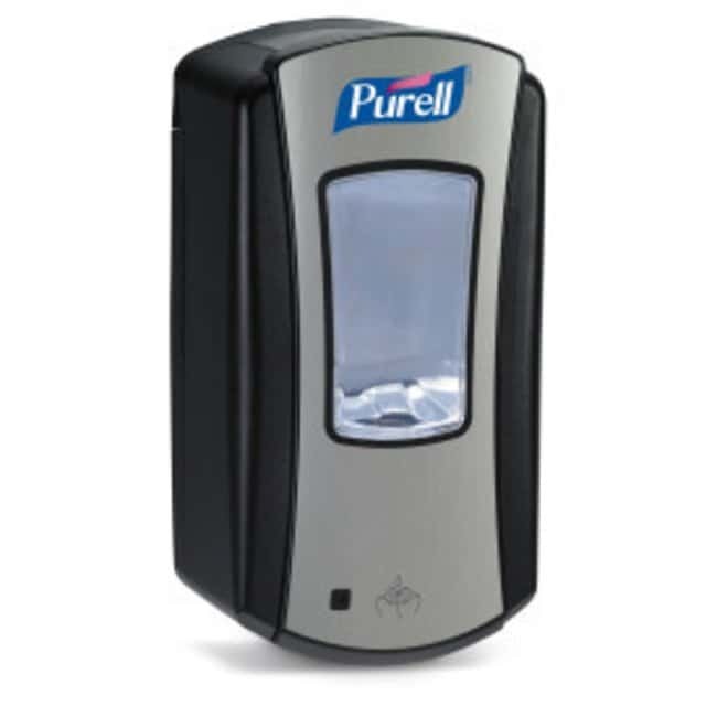 Purell LTX-12 Dispenser for Purell Hand Sanitizer Black/Silver:Wipes, Towels