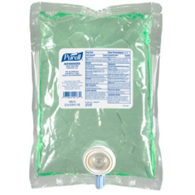 Purell Advanced Hand Sanitizer Soothing Gel Refill; 1000 mL; Qty: 8:Gloves,