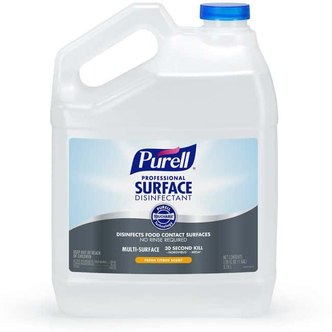 Purell Professional Surface Disinfectant Size: 128 fl oz:Wipes, Towels