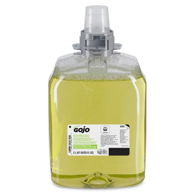 GOJO Citrus Ginger Foam Hand and Showerwash Refill Size: 2000 ml:Gloves,