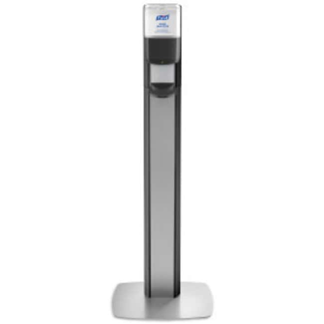 Purell MESSENGER ES8 Floor Stand with Dispenser Black:Wipes, Towels and
