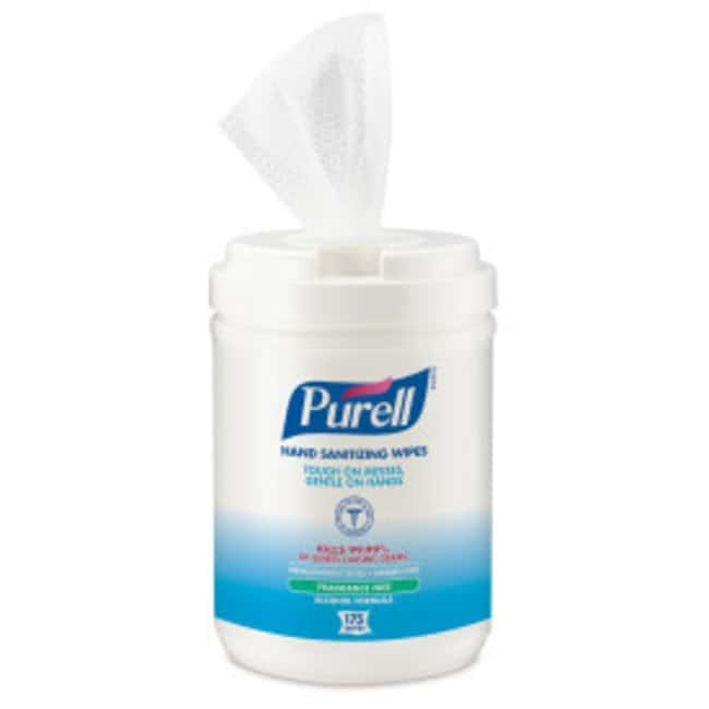 Purell Hand Sanitizing Wipes Alcohol Formula, Canister PURELL™ Hand