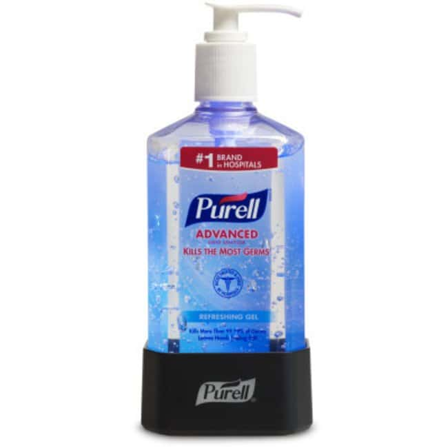 Purell Places12 oz. Light-up Bottle Docks:Personal Hygiene Products:Soap