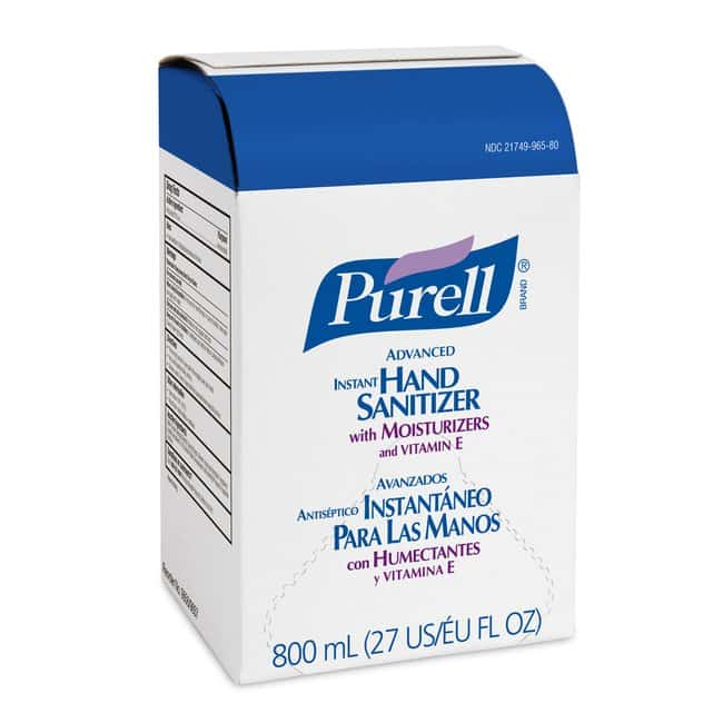 Purell Advanced Hand Sanitizer Gel Refill Capacity: 800 ml:Wipes, Towels