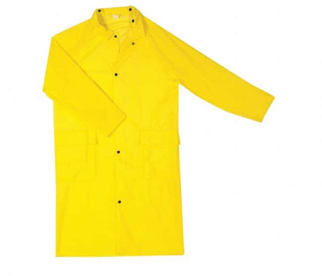 Guardian Protective Wear Full-Length Raincoats Yellow; X-Large:Gloves,