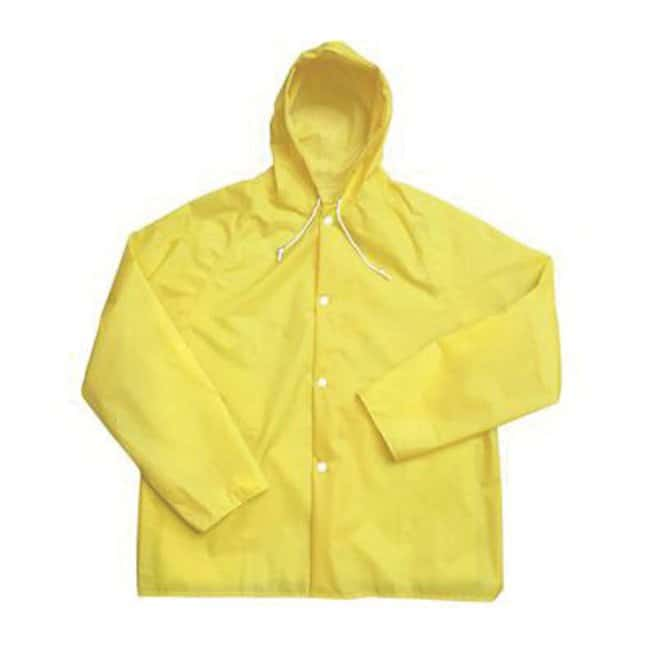 Guardian Protective Wear Standard Length Jackets Attached hood; Yellow;