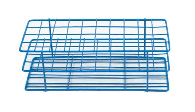 Fisherbrand™HDPE Coated Wire Rack Matrice de tubes: 4x10; puits: 40; Diam. du puits: 16à20 mm Fisherbrand™HDPE Coated Wire Rack