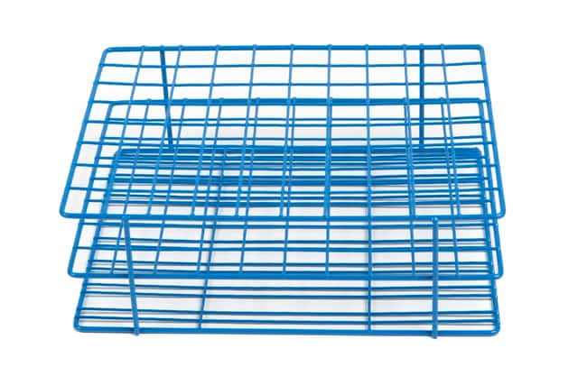 Fisherbrand HDPE Coated Wire Racks 80, 16-20 mm:Racks, Boxes, Labeling