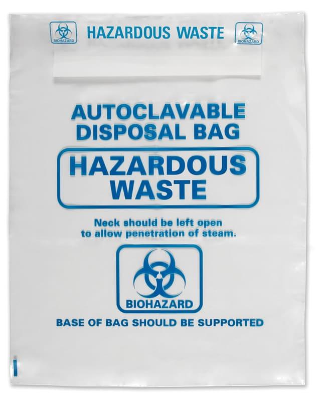 Heathrow ScientificAutoclavable Bags 310x660mm Heathrow ScientificAutoclavable Bags