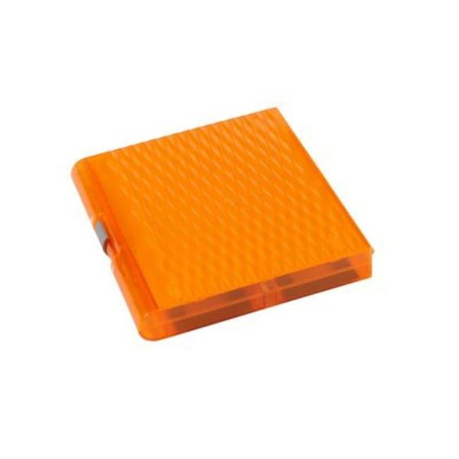 Fisherbrand Premium Plus Slide Box, 100 place Orange:Racks, Boxes, Labeling