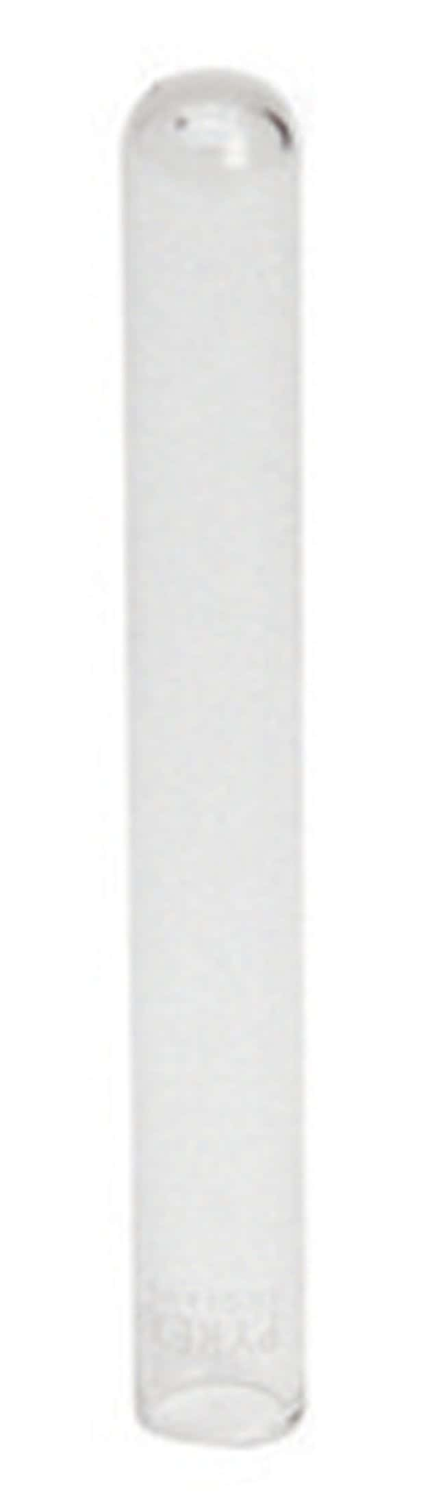 HeidolphGlassware - Test Tubes With rim; Diameter: 16mm (0.62 in.); Length: