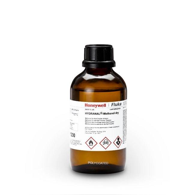 HYDRANAL™ - Methanol dry, Reagent for volumetric one-component KF titration (working medium), Honeywell Fluka™