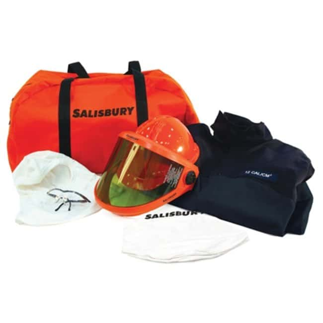 Honeywell Salisbury HRC2 12 Cal/Cm2 Coat and Pant Kit:Gloves, Glasses and