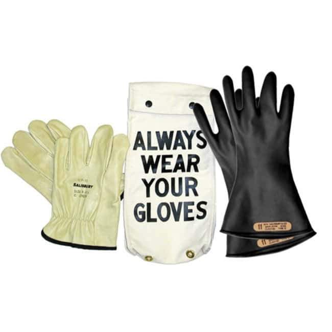 Honeywell SalisburyClass 00 Natural Rubber Lineman Gloves Kit - 11 in.:Personal