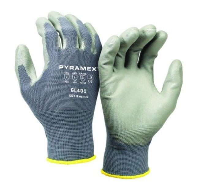 Pyramex Safety ProductsGL401 Polyurethane-Coated Nylon Gloves:Personal