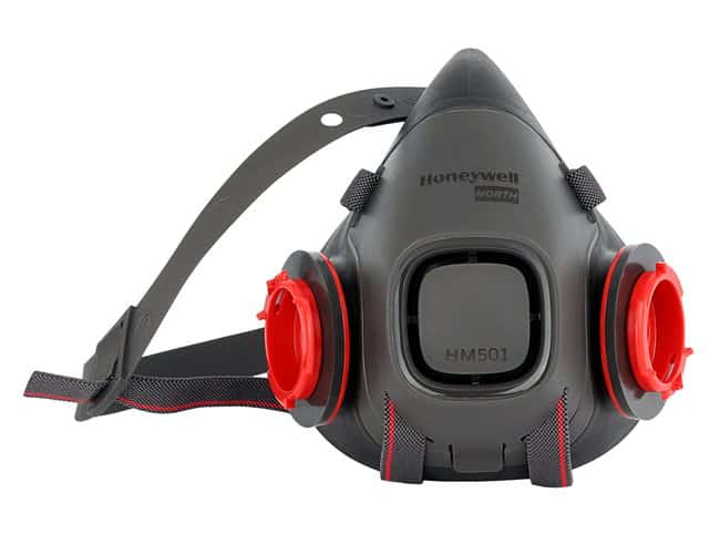 Honeywell North HM500 Series Half Mask Size: Large:Gloves, Glasses and
