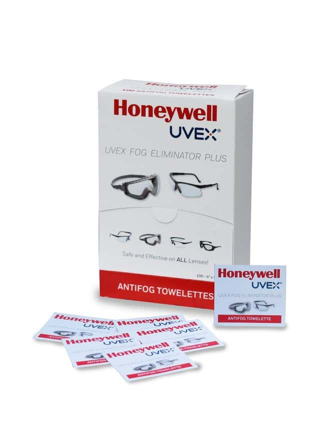 Honeywell Uvex™ Fog Eliminator Plus Cloths