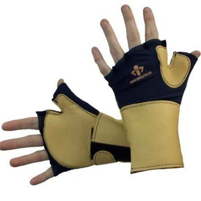 Impacto Anti-Impact Glove with Wrist Support Size: Medium:Gloves, Glasses