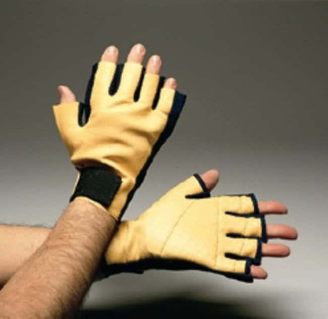 Impacto Anti-Impact Three-Quarter All Leather Gloves Size: Small, Pair:Gloves,