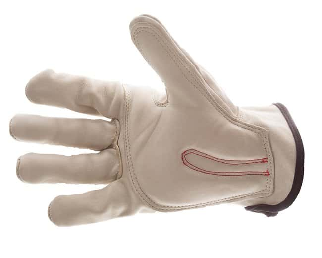Impacto Leather Full Finger Anti-Impact Carpal Tunnel Glove Small