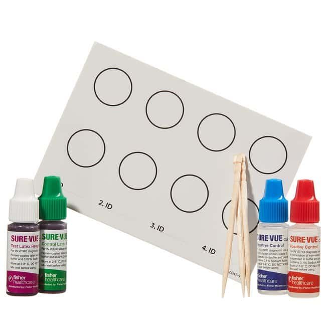 Fisher Healthcare Sure-Vue Color Staph ID Latex Test Kit  150 Tests/kit:Testing