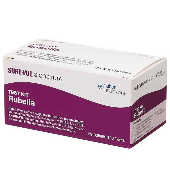 Fisherbrand Sure-Vue Signature Rubella Latex Test :Diagnostic Tests and