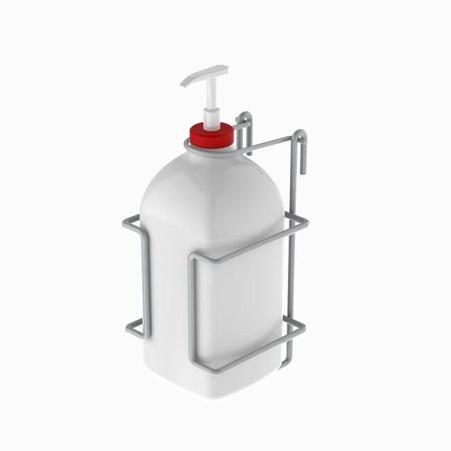 InterMetroSanitizer Holder:Personal Hygiene Products:Soap and Sanitizer