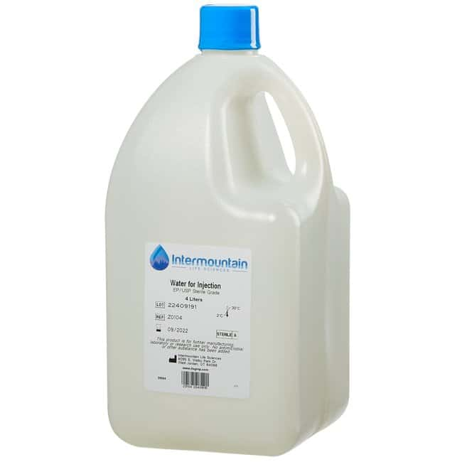 Water for Injection, EP/USP, Sterile Grade, Intermountain