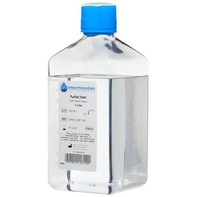 Sterile Purified Water, USP, Intermountain