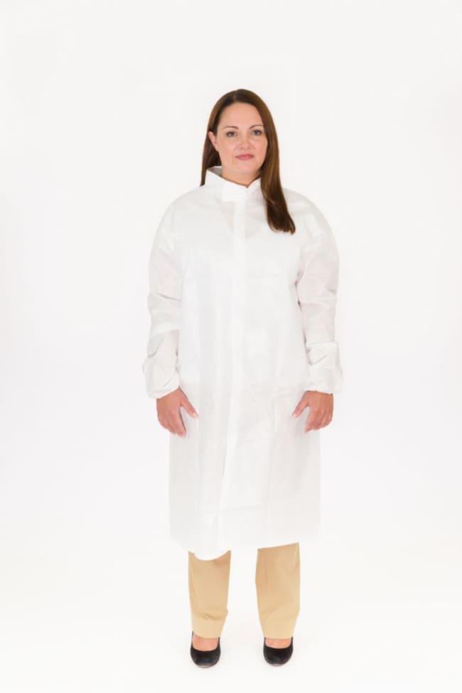 International Enviroguard BodyFilter CE Cleanroom Frocks XX-Large; Bulk