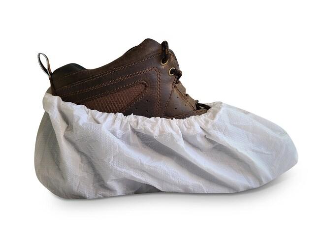 International EnviroguardSuper Heavy Duty CPE Shoe Covers:Personal Protective