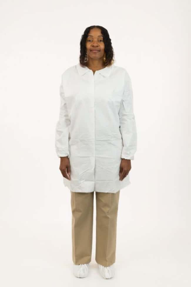 International Enviroguard MicroGuard CE Lab Coats 2X-Large; Clean processed:Gloves,
