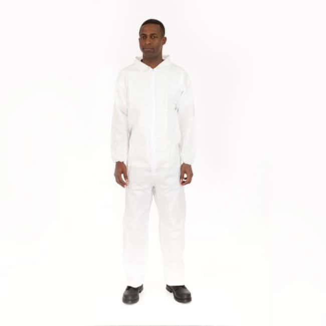 International Enviroguard BodyFilter CE Cleanroom Coveralls Tunnelized