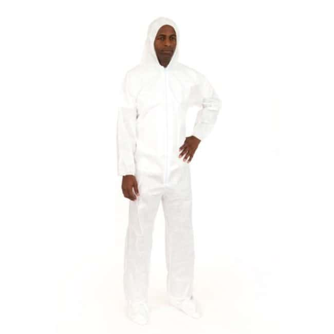 International Enviroguard BodyFilter CE Cleanroom Coveralls with Attached