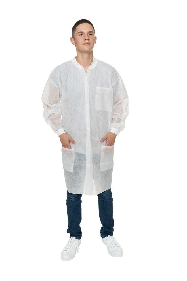 International EnviroguardPolypropylene Lab Coats:Personal Protective Equipment:Safety