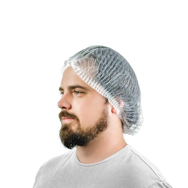 International EnviroguardPleated Bouffant Caps:Personal Protective Equipment:Head