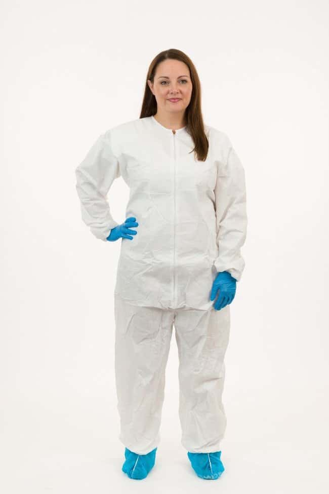 International Enviroguard GammaGuard CE Sterile Cleanroom Coveralls X-Large:Gloves,