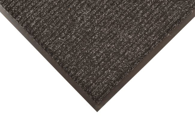 NOTRAX Brush Step Ribbed Surface Mat CHARCOAL; 4 ft. x 8 ft.:Gloves, Glasses