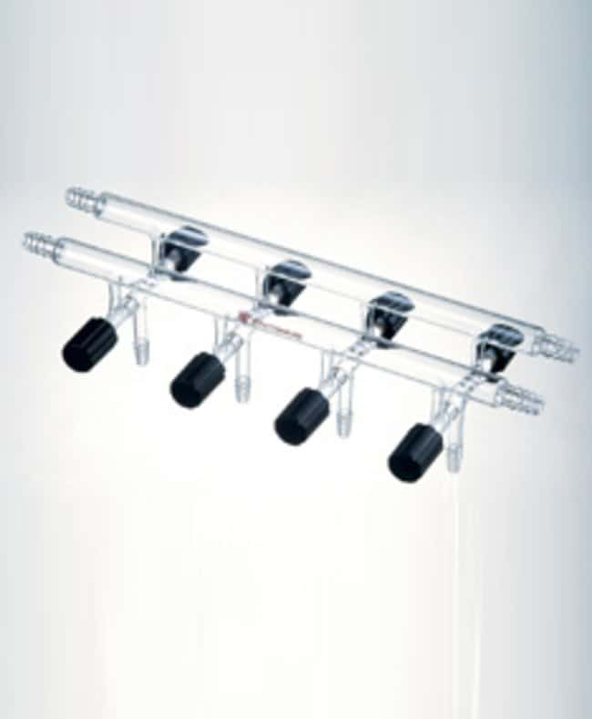 SynthwareVacuum or Inert Gas Manifold, Double, Front Left, Rear Right Connection:Gases