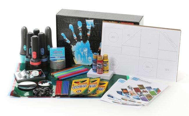 Kemtec Light & Color Kit  Grades 5-8:Teaching Supplies