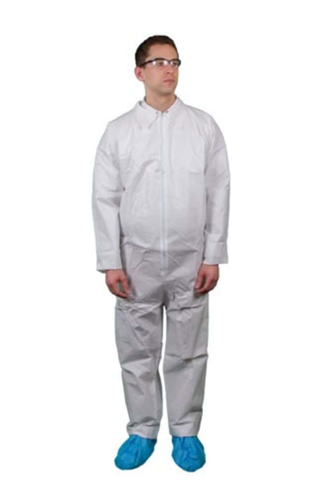 Keystone KEYGUARD Microporous Coveralls Open wrists and ankles; Single