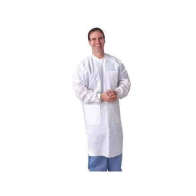 Keystone SMS Lab Coats Three pockets; Knit wrisrts; Knit collar; Size:
