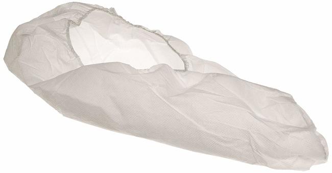 Keystone Super Sticky Polypropylene Shoe Cover Color: White; Size: Large:Gloves,