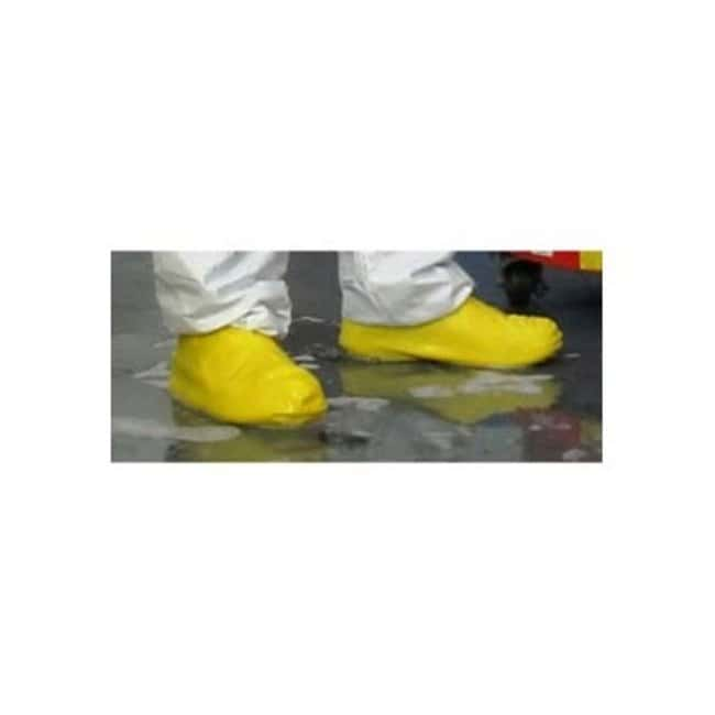 Keystone Heavy-Duty Latex Boot/Shoe Covers Color: Yellow; Size: Large:Gloves,