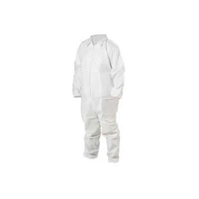 Keystone KEYGUARD Microporous Coveralls Elastic wrists and ankles; Single