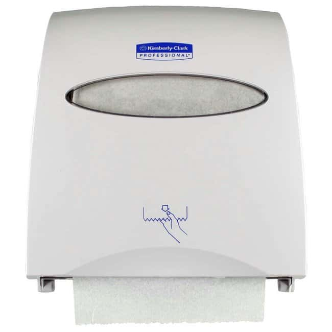Kimberly-Clark Professional Slimroll Hard Roll Towel Dispenser Color: White:Gloves,