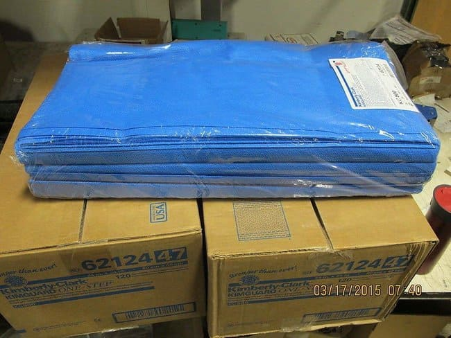 Kimberly-Clark Professional KC500 Kimguard Sterilization Wrap 24 x 24 in.:Diagnostic