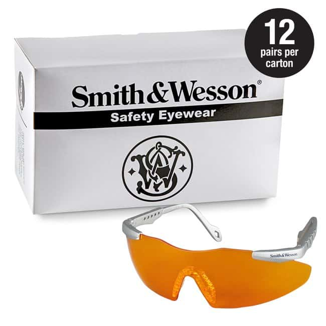 Kimberly-Clark Professional Smith  Magnum 3G Safety Glasses Orange lens