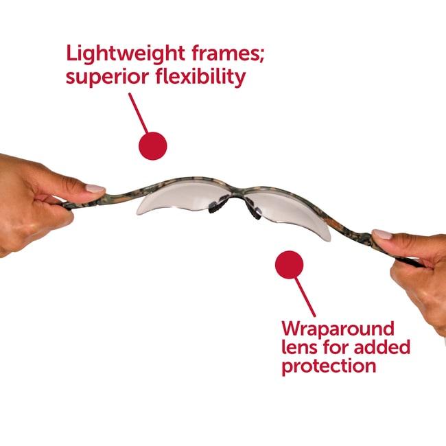 Kimberly-Clark Professional KleenGuard Nemesis Safety Glasses  Frame color: